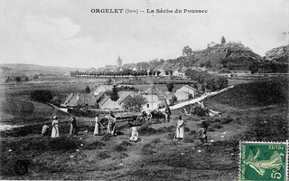 La sêche du poussec des tanneries d'Orgelet