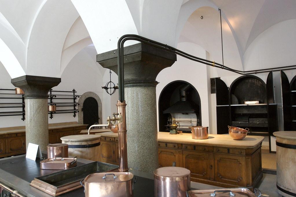 Kitchen Of Neuschwanstein Kitchen Of Neuschwanstein