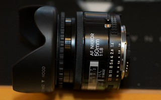 Nikon AF Nikkor 50mm 1:1.8 | by jmtosses