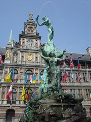 Stadthuis + Fountain | by celesteh