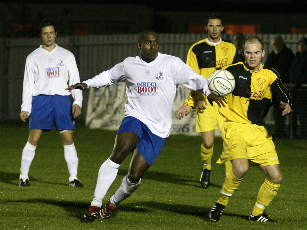 Enfield Town 2 Arlesey Town 2 (30/10/07)