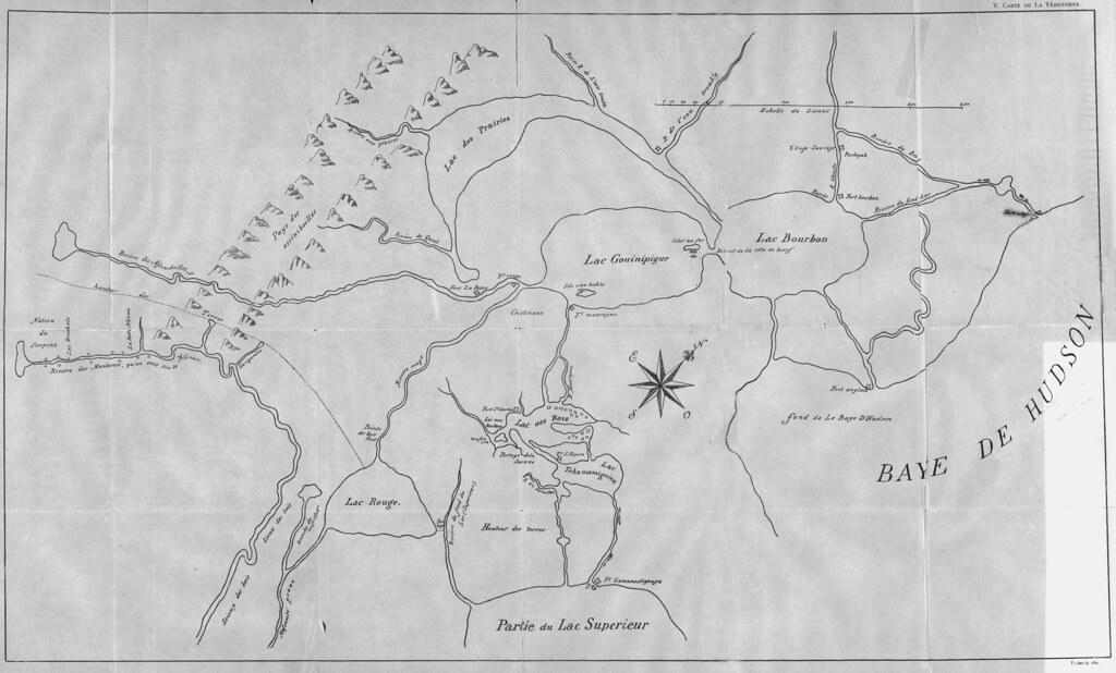 Carte Canada Manitoba.Carte Contenant Les Nouvelles Decouvertes De L Ouest En Ca Flickr