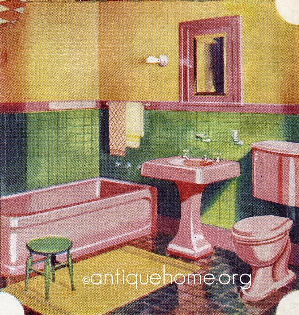 1930 Bathroom - Gordon-Van Tine
