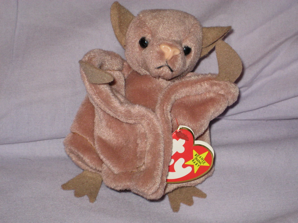 2add7c7d8c9 ... Ty Beanie Baby Brown Bat