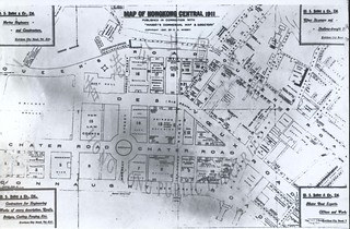 Map of the Central District, 1911 = 1911年中環地圖