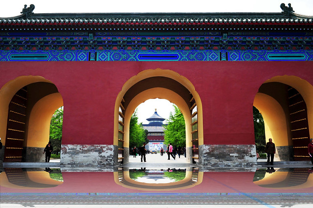 Gates To The Temple of Heaven
