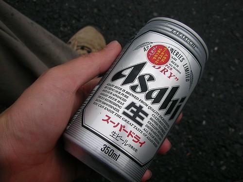下山後のビール(棒ノ折山トレッキング) Bonooreyama(Okutama) Trekking   by jetalone