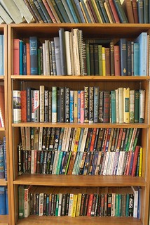 Books in HCRO Dorm Library   by C G-K