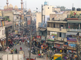 India - Delhi - 003 - The view of Paharganj out my hotel window | by mckaysavage