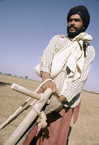 Worker in field. India | by World Bank Photo Collection