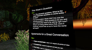Conversation Week @ Second Life