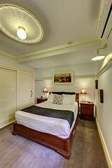 Previous: Cobb & Co Court Boutique Hotel - Deluxe Queen Room Bedroom