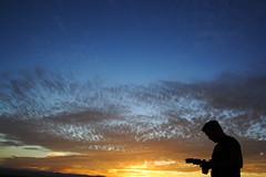 fotógrafo al atardecer   by teresawer
