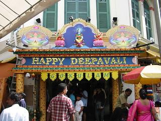 Singapore during Deepavali