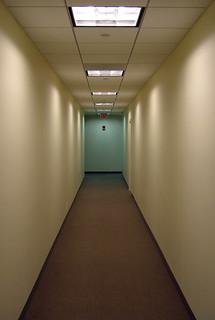 Office Hallway | by walknboston