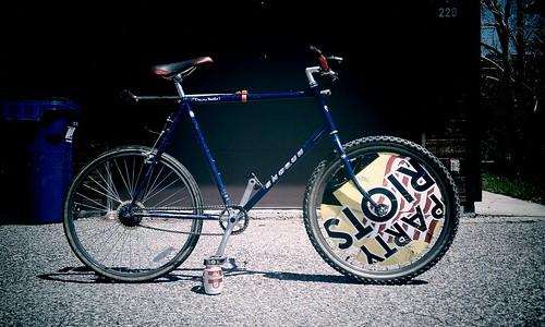 2011 Hardcourt Bike Polo Steed