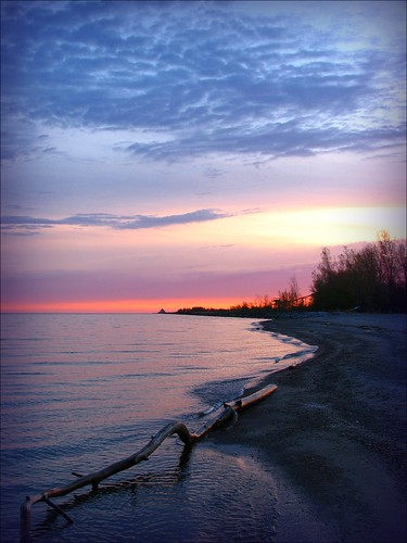 ohio sunrise lakeerie walnutbeach ashtabula ashtabulacounty