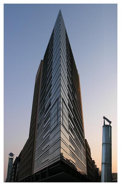 A building in the Potsdamer Platz