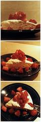 Golden Buttermilk Cake with Strawberries