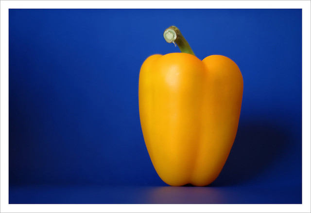 Bell Pepper in Blue Stage