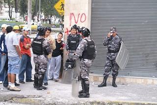 Riot in Ecuador