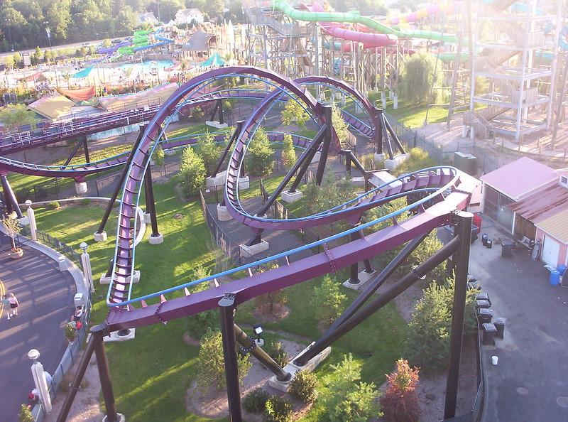 Batman The Dark Knight rollercoaster