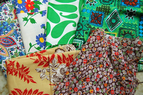 vintage fabrics | by SouleMama