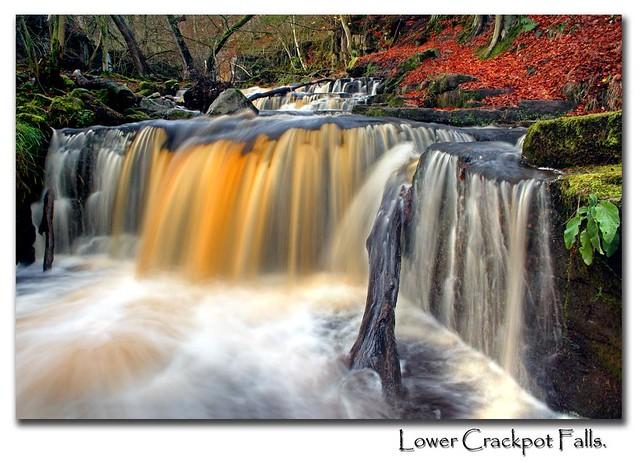 Lower Crackpot Falls...