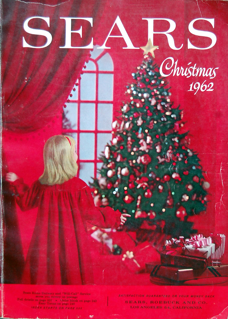 Christmas Catalogs.1962 Sears Christmas Book Flickr