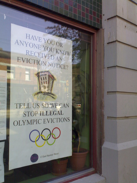 Stop Illegal Olympic Evictions