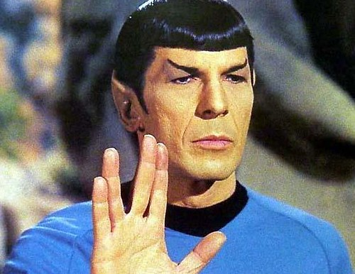 Half Human, Half Vulcan: Spock from Star Trek, the Original TV series