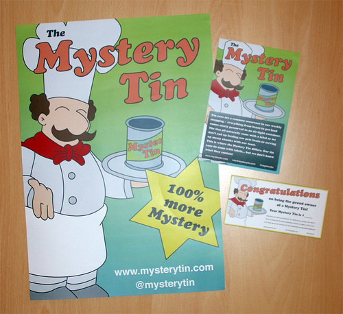 Mystery Tin Posters & Flyers