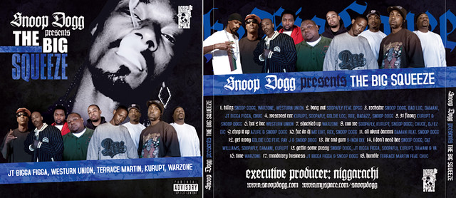 Snoop Dogg - The Big Squeeze | Album cover artwork for