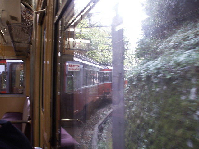 train back down the mountain