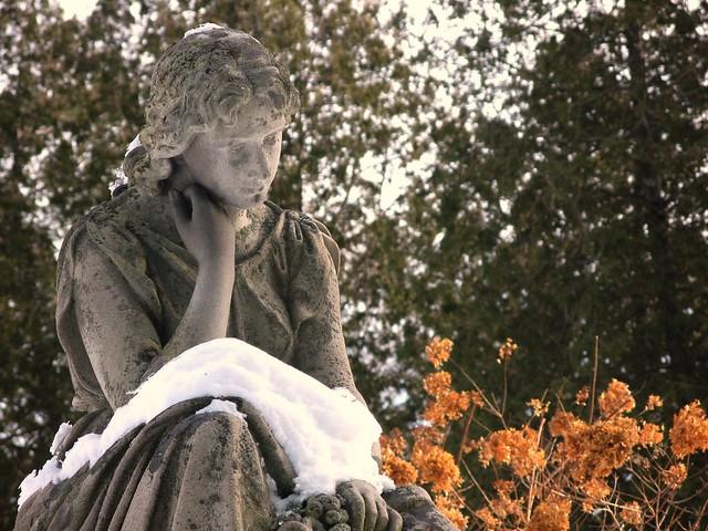 Chester mourner - winter