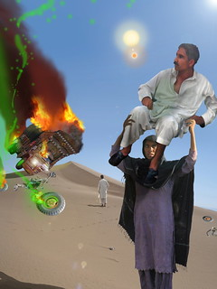 A Woman has got to do a Man's job at the Crash landing on the Moon of New Khanpur
