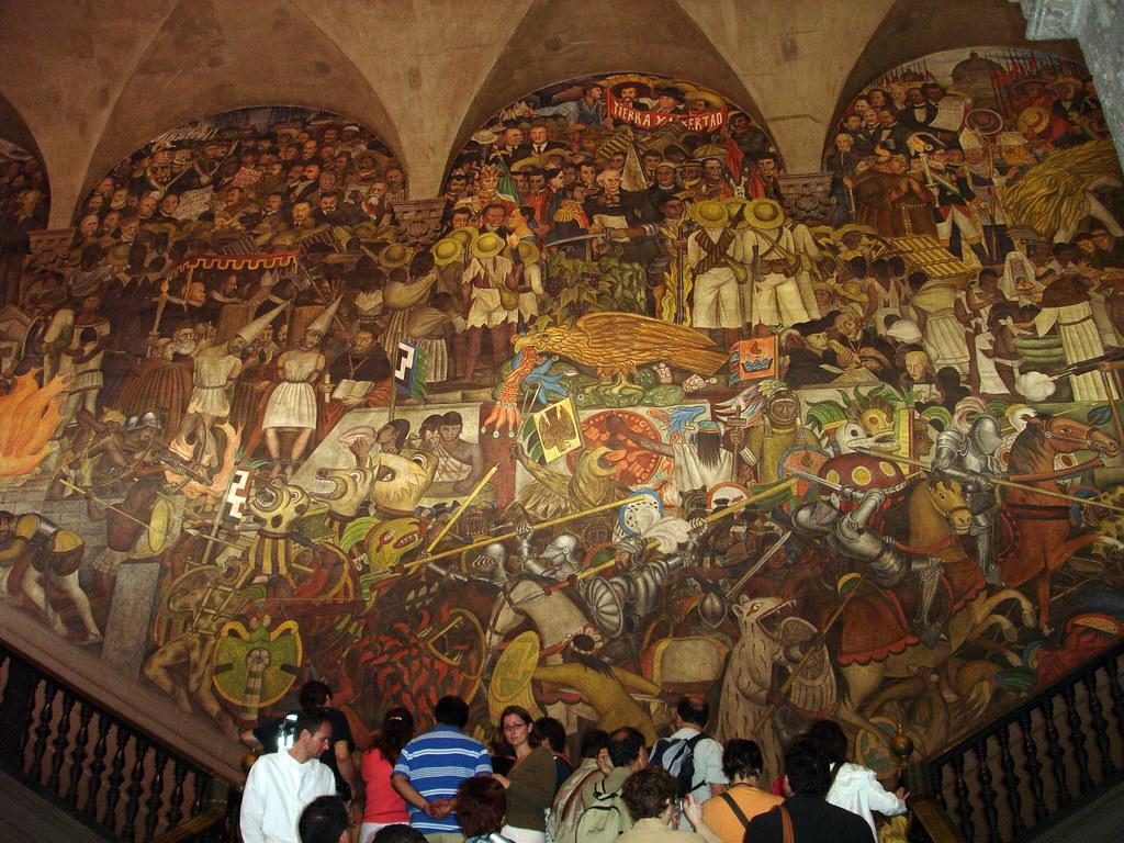 El Palacio Nacional Mural