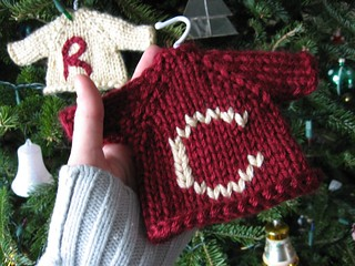 Knitted Sweater Ornaments | by Evester