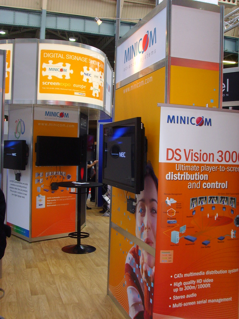 screenexpo200807 | Minicom's DS Vision 3000 (player to scree… | Flickr