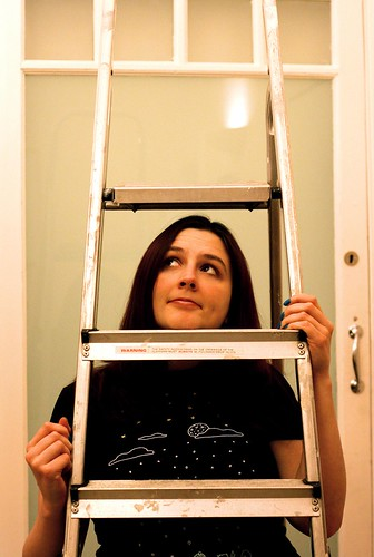 365:315 Superstitions : Under A Ladder | by seq