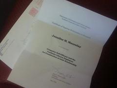Certificate | by ScruffyNerf