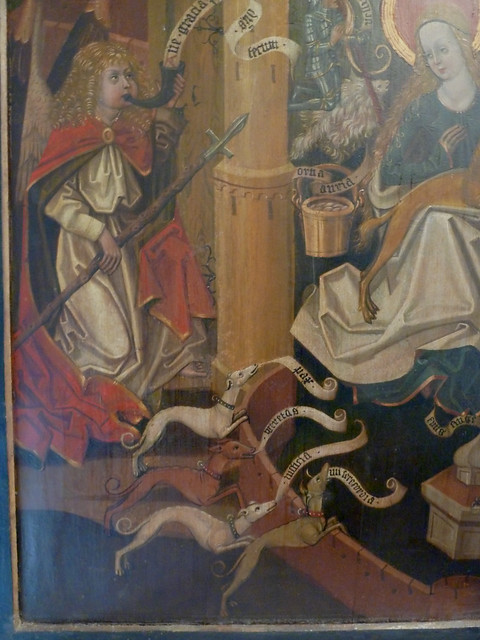 Annunciation - as the hunt of the unicorn
