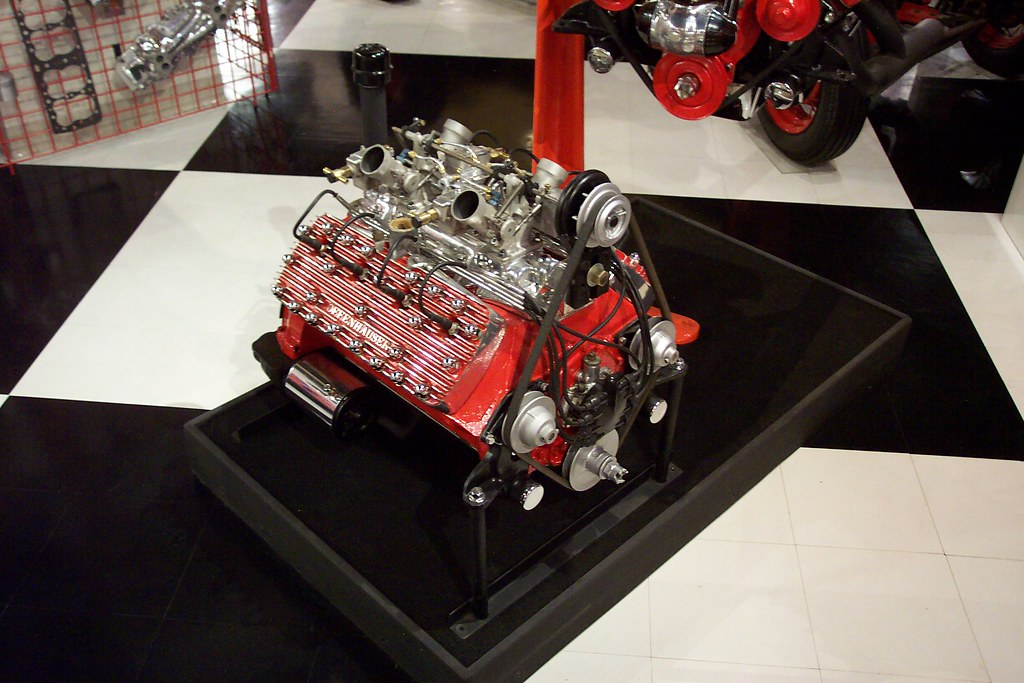 Flathead Ford Racing Engine