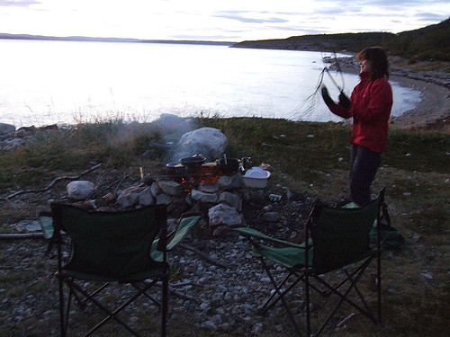 Wild camping in Norway   Primitive skills are well ...