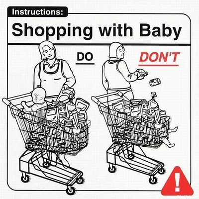 shopping with baby | by keeping it real