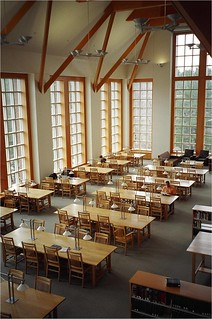 Hubbard Reading Room, Dimond Library   by affullerton