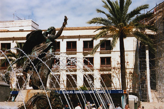 Jerez fountain