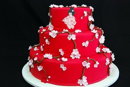 Wedding Cake - Japanese Style   by Gustavo Boaventura