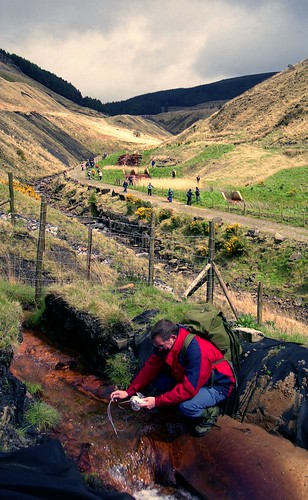 water sampling glyncorrwg