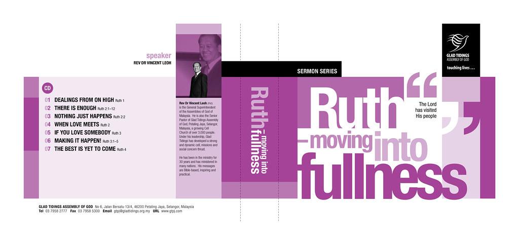 Sermon Series CD Cover Design : Ruth – Moving Into Fullnes… | Flickr